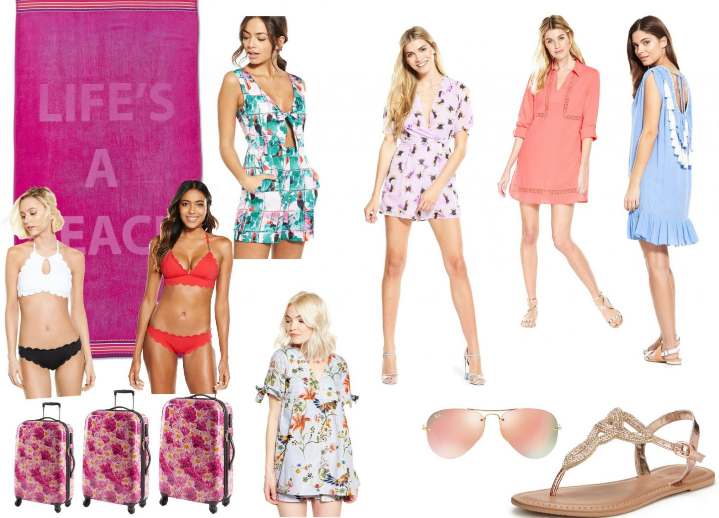 The Fashionista Observer Littlewoods Summer Holidays Clothes Packing