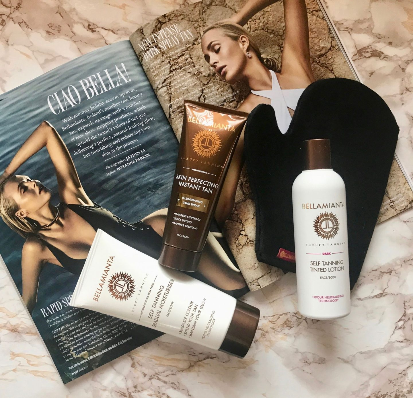 Summer's Officially Here And It's Time To Glow With Bellamianta Luxury Tan's New Releases
