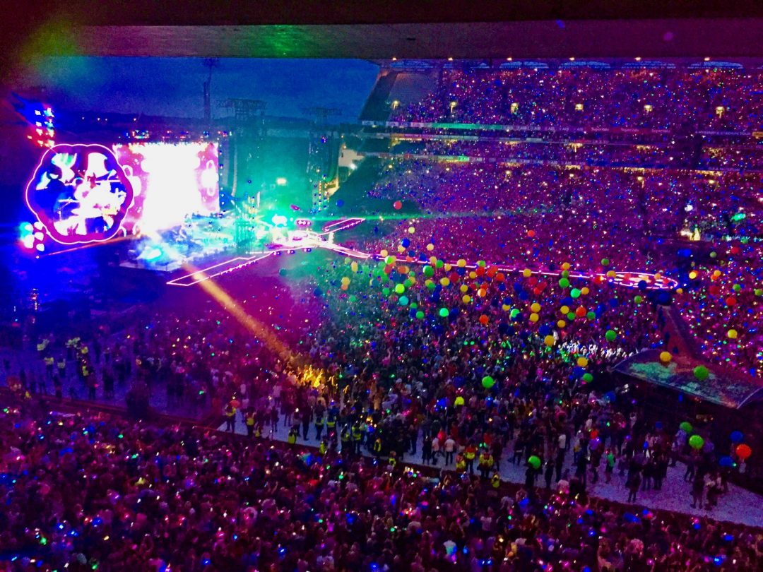 The Fashionista Observer Littlewoods Ireland Coldplay Croke Park