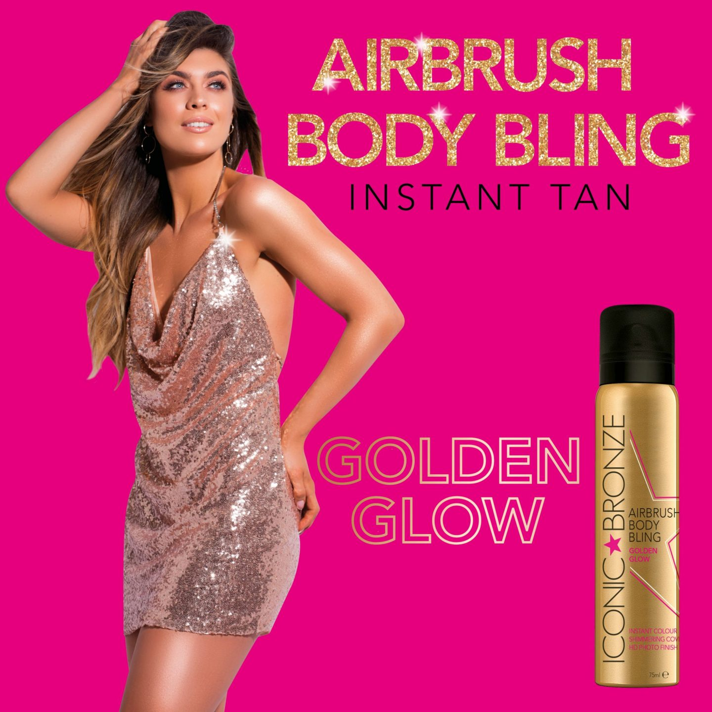 The Only Tan Accessory You Need This Christmas – Iconic Bronze Airbrush Body Bling